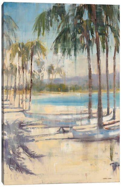 Ocean Palms I Canvas Art Print