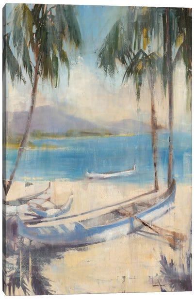 Ocean Palms II Canvas Art Print