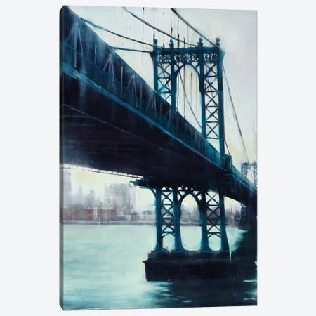 River Crossing Canvas Print #JCA25} by Joseph Cates Canvas Art