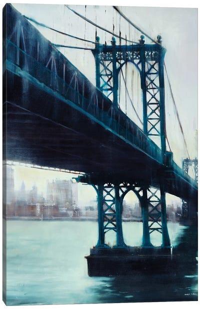 River Crossing Canvas Art Print