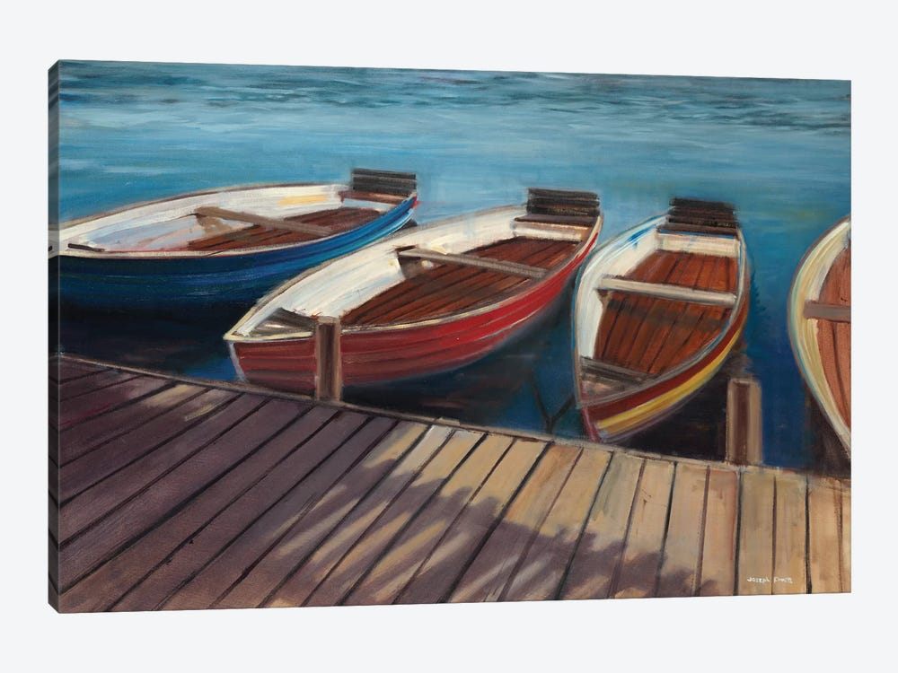 Row Boats by Joseph Cates 1-piece Canvas Wall Art