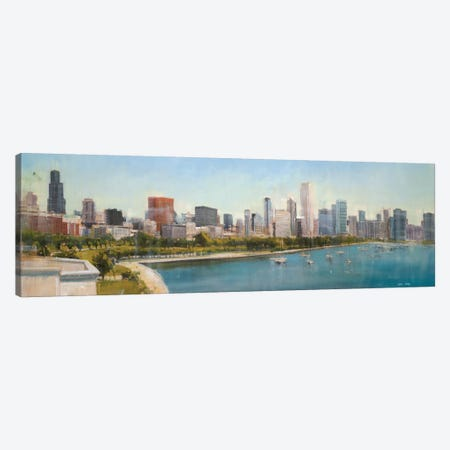 Skyline II 3-Piece Canvas #JCA27} by Joseph Cates Canvas Art