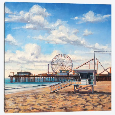 Summer Fun 3-Piece Canvas #JCA28} by Joseph Cates Art Print