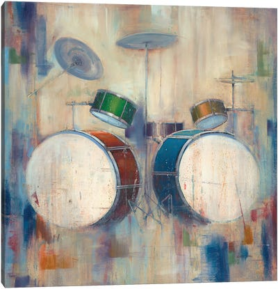 Drums Canvas Art Print