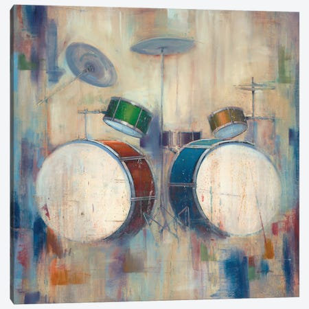Drums Canvas Print #JCA2} by Joseph Cates Canvas Art Print