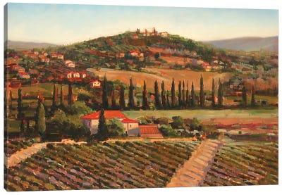 Tuscan Villa Canvas Art Print