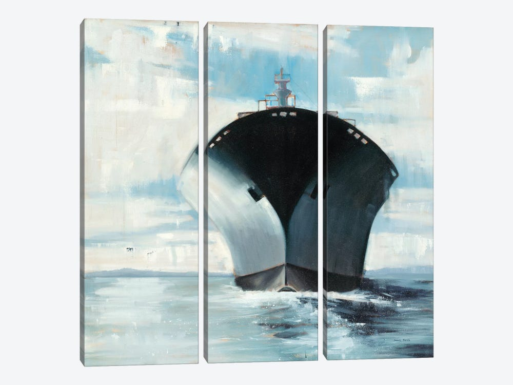 Under Bow II by Joseph Cates 3-piece Canvas Wall Art