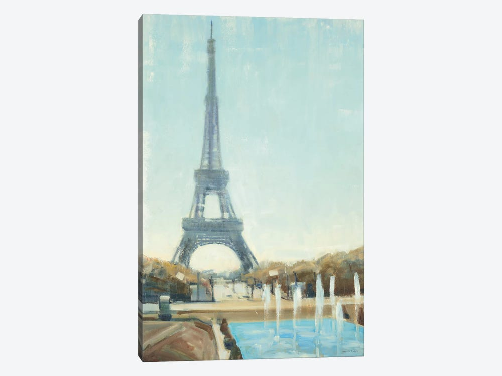 Eiffel Tower by Joseph Cates 1-piece Canvas Artwork