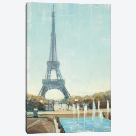 Eiffel Tower Canvas Print #JCA3} by Joseph Cates Art Print