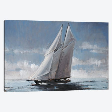 Full Sail Canvas Print #JCA4} by Joseph Cates Canvas Wall Art