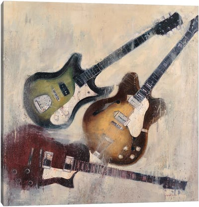 Guitars I Canvas Art Print