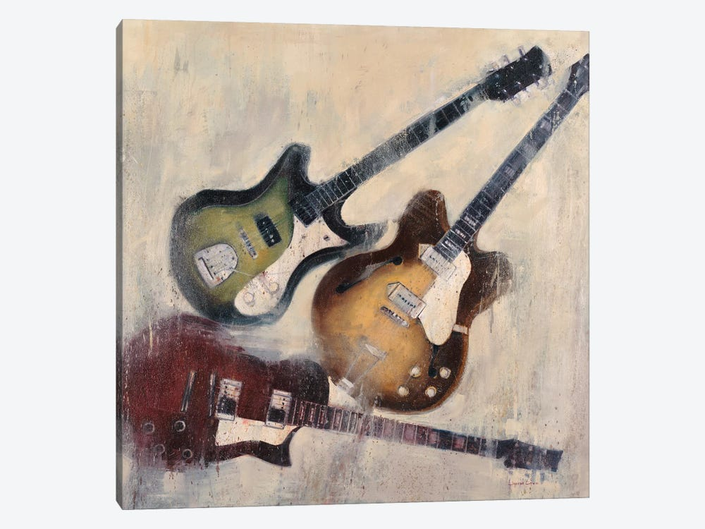 Guitars I by Joseph Cates 1-piece Canvas Art