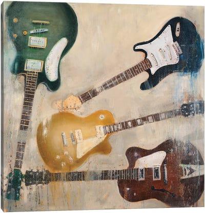 Guitars II Canvas Art Print