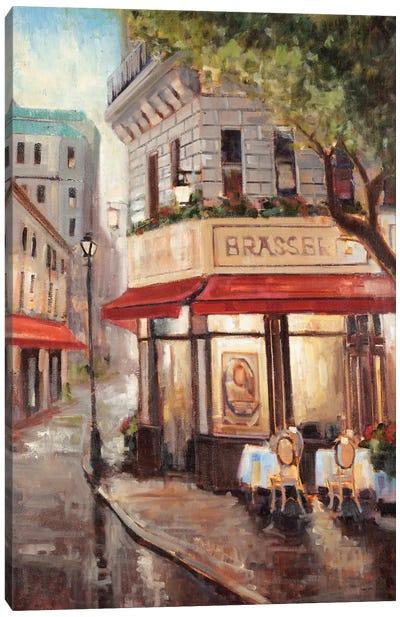 Parisian Stroll Canvas Art Print