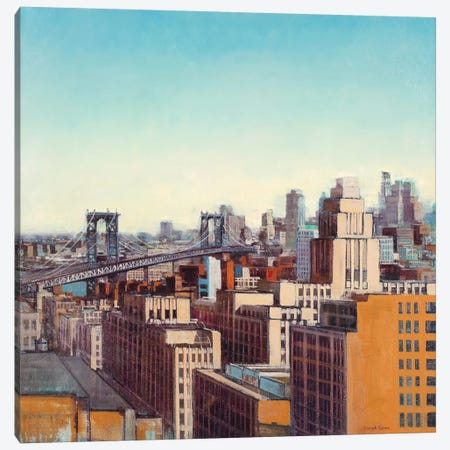 Skyline I 3-Piece Canvas #JCA8} by Joseph Cates Canvas Art Print