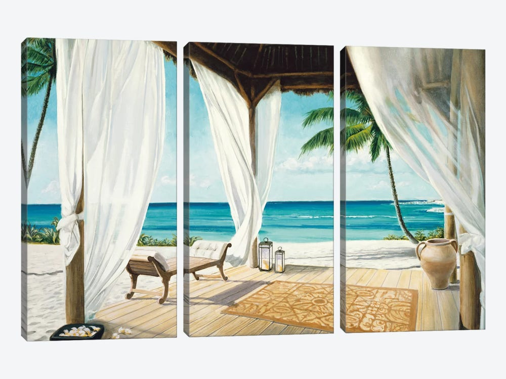 Sea Breeze II by Jacob Reed 3-piece Canvas Art