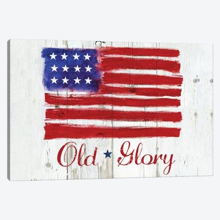 Old Glory Canvas Print #JCE4} by Jan Cole Canvas Art