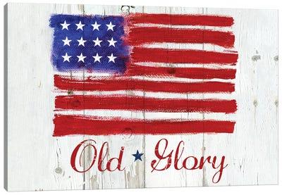Old Glory Canvas Art Print