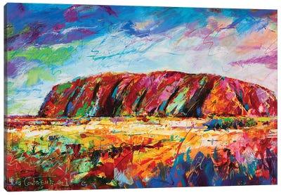 Uluru Canvas Art Print