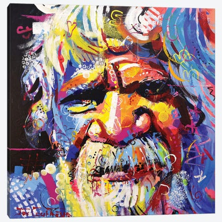 Wisdom Canvas Print #JCF112} by Jos Coufreur Canvas Art Print