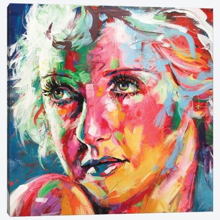 Bette Davis Canvas Print #JCF113} by Jos Coufreur Canvas Print