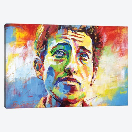 Bob Dylan Canvas Print #JCF114} by Jos Coufreur Canvas Wall Art