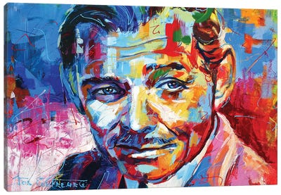 Clark Gable Canvas Art Print