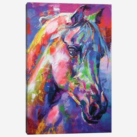 Horse Canvas Print #JCF124} by Jos Coufreur Canvas Print