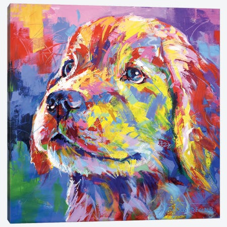 Labrador II Canvas Print #JCF129} by Jos Coufreur Canvas Art