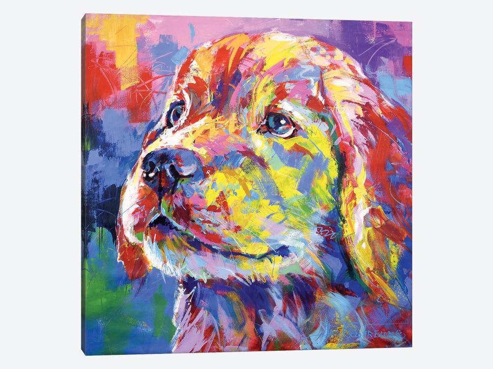 Labrador II by Jos Coufreur 1-piece Canvas Print