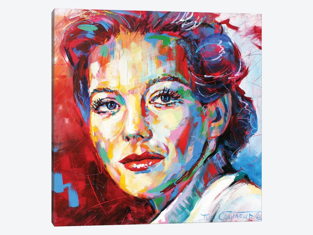 Natalie Wood by Jos Coufreur 1-piece Art Print