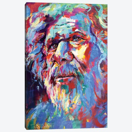 Wisdom II Canvas Print #JCF139} by Jos Coufreur Canvas Print