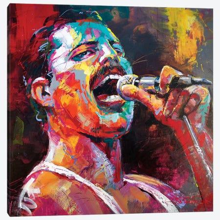 Freddy Mercury Canvas Print #JCF140} by Jos Coufreur Canvas Art