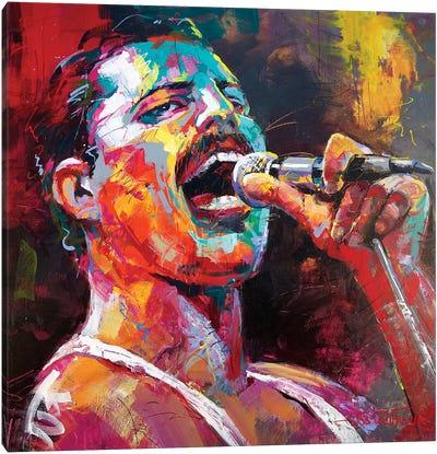 Freddy Mercury Canvas Art Print