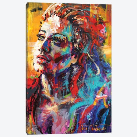 Adele Canvas Print #JCF142} by Jos Coufreur Canvas Art