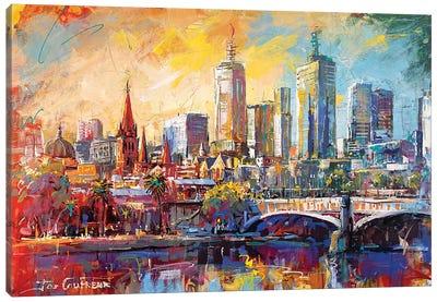 Melbourne Australia Canvas Art Print