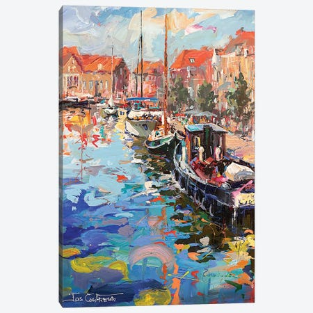 Enkhuizen Netherlands Canvas Print #JCF160} by Jos Coufreur Canvas Wall Art