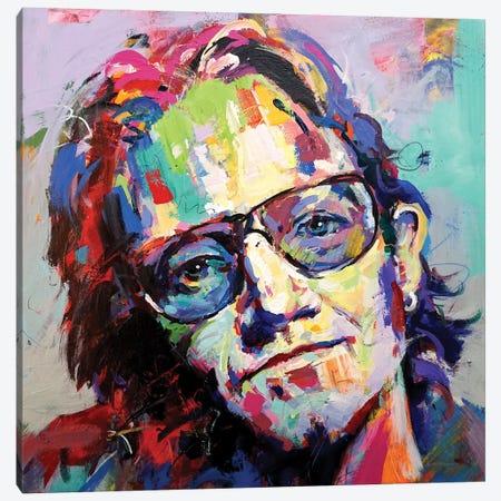Bono Canvas Print #JCF161} by Jos Coufreur Canvas Artwork