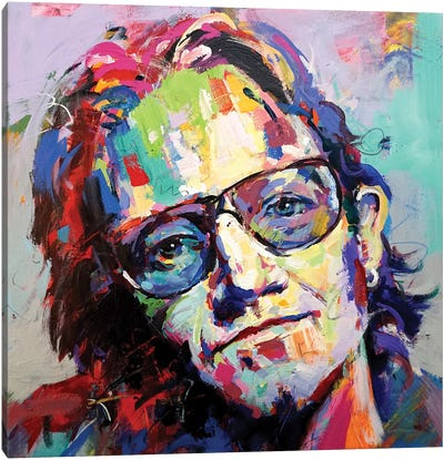Bono Canvas Art Print