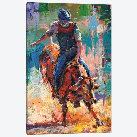 Eight Seconds Canvas Print #JCF162} by Jos Coufreur Canvas Wall Art