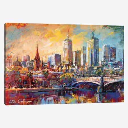 Melbourne, Australia Canvas Print #JCF163} by Jos Coufreur Canvas Art