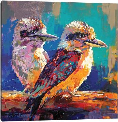 Kookaburra Pair Canvas Art Print