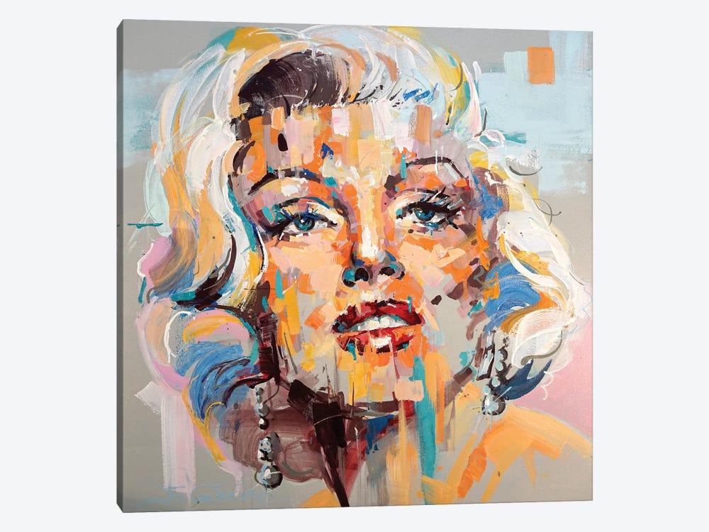 Marilyn Monroe XVIII by Jos Coufreur 1-piece Canvas Art Print