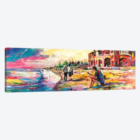 Cottlesloe Canvas Print #JCF19} by Jos Coufreur Art Print