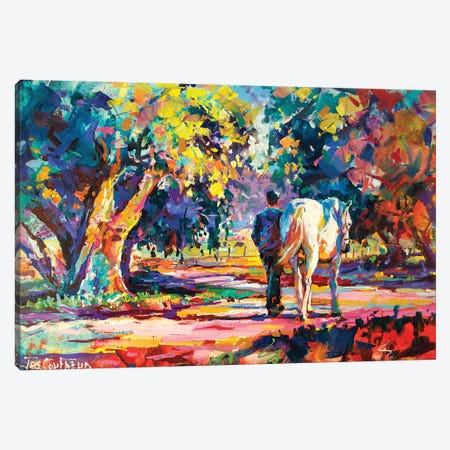 Country Lane Canvas Print #JCF20} by Jos Coufreur Canvas Wall Art
