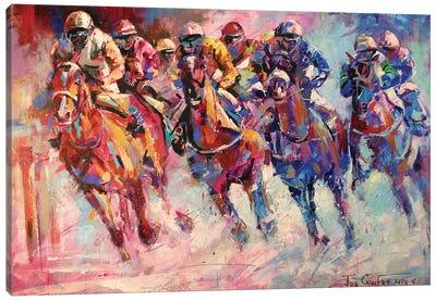 Finish Line Canvas Art Print