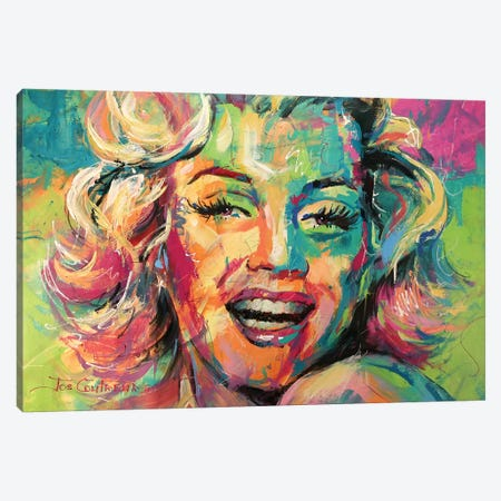 Marilyn Monroe VIII Canvas Print #JCF59} by Jos Coufreur Canvas Print