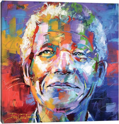 Nelson Mandela Canvas Art Print