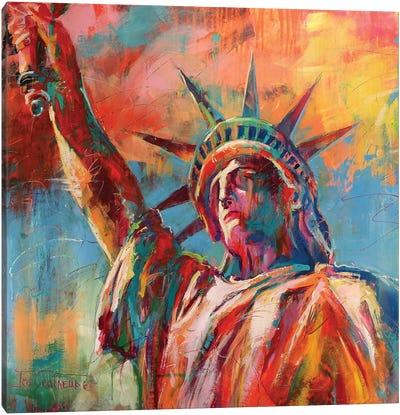 Statue Of Liberty Canvas Art Print