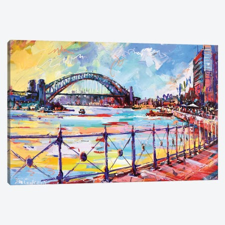 Sydney III Canvas Print #JCF80} by Jos Coufreur Canvas Art